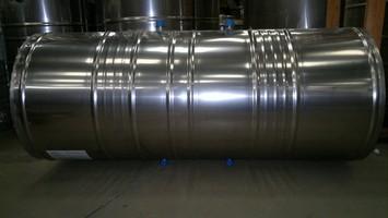 Cilindro para serpentina em aço Inox