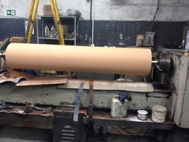 Revestimento de cilindros gofradores para indústria do papel e plástico
