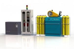 Central de recarga de cilindros de alta pressão