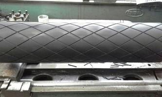 Borracha para revestimento de cilindros